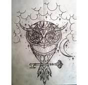 Sugar Owl With Background By Swetattoo On DeviantArt