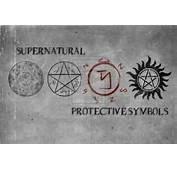 Protection Symbols  Supernatural