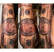 35 Arresting Money Tattoos  SloDive