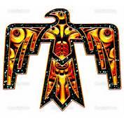 The Native Symbol Or Totem  Thunderbird Symbolises Power Protection