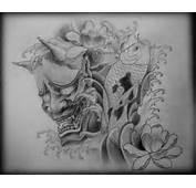 Japanese Oni Hannya Mask Tattoo And On Pinterest