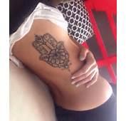 Mano De Fatima Con Centro Flor Y Ojo  Tatuajes Para Mujeres