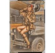 WW2 Military Pinups – Kelsey 101st Airborne Pinup  Musings Of