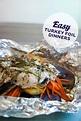 Easy Turkey Foil Dinners - Printable Crush