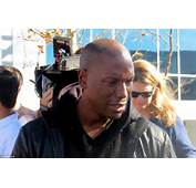 Rapper Tyrese Gibson Was Overcome With Emotion When He Visited The