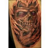 Demon Underneath Skin Tattoo  Tattooimagesbiz