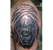 Tattoo Allien 3d Is My Life Mechanical The