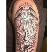 Tatuagem De Anjo No Braço  Fotos