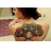 Muitas Pessoas Também Fazem Tatuagens De Coruja Simplesmente Por