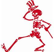 &gt Stickers Grateful Dead Dancing Skeletons Rub On Sticker Red