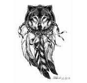 Wolf Tattoo By MarcinManiek On DeviantArt