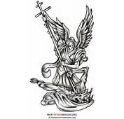 Archangel Michael Angelic Symbols The Police Tattoo