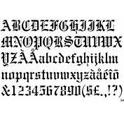 Identifont  Engravers Old English BT