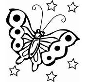 Coloring Pictures For Kids  Butterfly