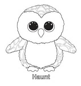 Ty Beanie Boos Coloring Pages