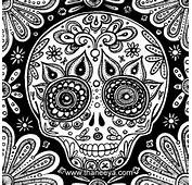 Day  Of The Dead Craft Skull Designs 19