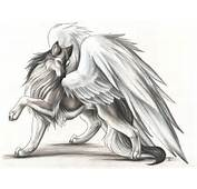 Winged Wolf By BeeJayKim On DeviantArt