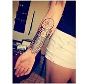 Dreamcatcher Tattoo Designs 22