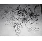 Lilies Swirls Leopard Print 2 By Brittneystar On DeviantArt