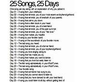 Day 10  A Song By Your Favorite Band