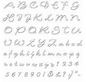 Stencils Letters Printables Alphabet Free Fancy