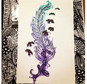 Feather Tattoo By Annamarie09 On DeviantArt