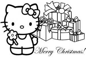 Hello Kitty Christmas Coloring Pages | Realistic Coloring Pages