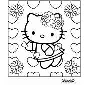 Categories Coloring Pages  Hello Kitty