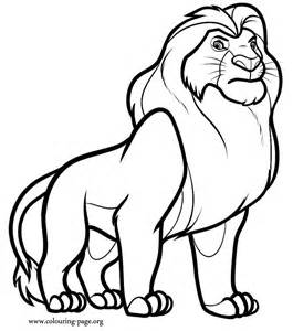 vitani lion king coloring pages lion king hyenas coloring pages
