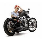 Custom Harley Bobberslo Boy  Bobber Build Uk Black Bob Xaua98il