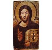 Christ Icon Sinai 6th Centuryjpg  Wikimedia Commons