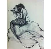 Beautiful Mermaid Drawings In Pencil Images &amp Pictures  Becuo