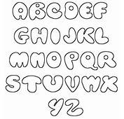 Graffiti Fonts Alphabet Printable Bubble A Z