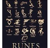 Rune Meanings Mortal Instruments The Runes