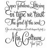 Stylish Tattoo Fonts For Letters Font