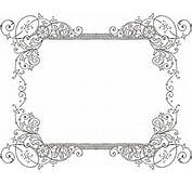 More Free Clipart  Vintage Frames Borders &amp Ornaments
