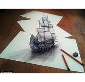 The Pictures That Draw You In Amazing 3D Sketches Look As If