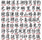 Japanese Kanji Symbols Tattoos