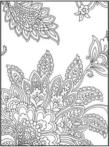 Intricate Design Coloring Pages - AZ Coloring Pages