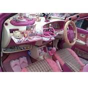 Hello Kitty Car Interior