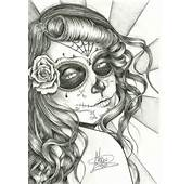 Sugar Skull Girl By Neretxu7 On DeviantArt