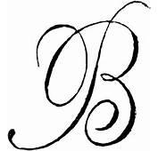 Decorative Letter B  ClipArt ETC
