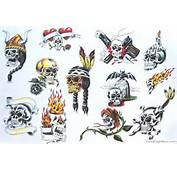 Motif Tatouage Tête De Mort 108
