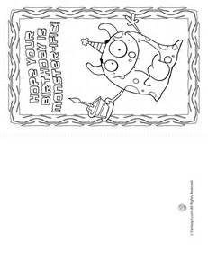 ... Card coloring pages for free. Birthday Card coloring pages