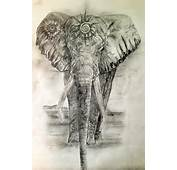 Sacred Elephant Tattoo Design For The Heart Chakra – Click On Photo