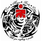 Go Back &gt Gallery For Tribal Triathlon Tattoos