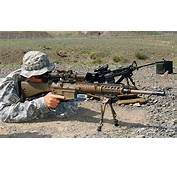 M110 762 × 51mm Suppressed American Sniper Rifle  HOT WEAPON