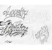 Cursive Letters Tattoo Designs  TattoosDesignFreecom