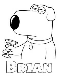 Family Guy Coloring Pages | HD Coloring Pages Gallery