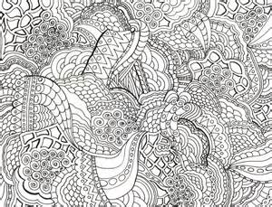 Adult Intricate Coloring Pages | Mewarnai